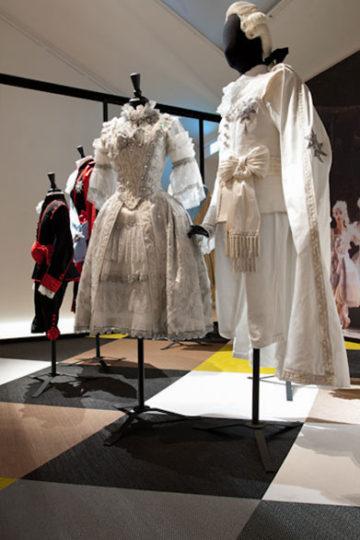Bolons golv i monter på Lars Wallins utställning